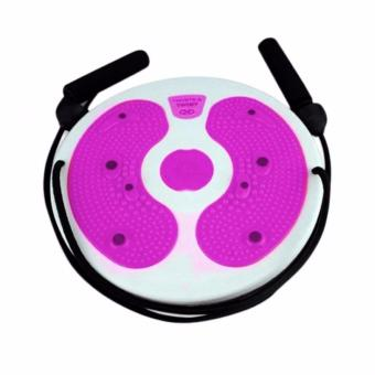 J&A Trimmer Twisting Waist Ankle Body Aerobic Exercise Twister Plate Twisting Balance Board for Strength Training, Cardio and Yoga Equipment, Improve Balance, Eye-hand Coordination(Color random delivery) - 2