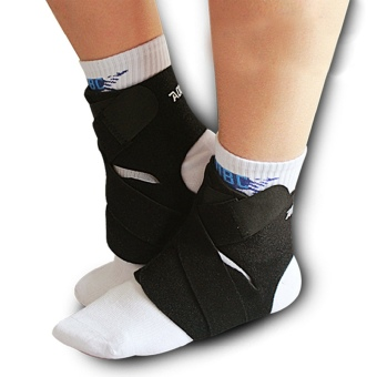 Jiayiqi Ankle Foot Support Pads Brace Guard Gym Sport Sock Protector - Intl