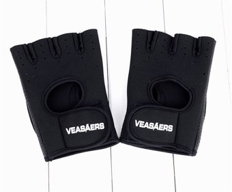 Jo.In Cycling GYM Half Finger Gloves Exercise Training (Gray) - 3