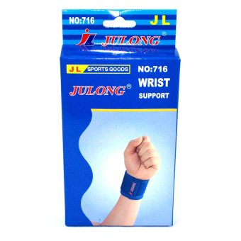 Julong MT-716 Fitness Gear Wrist Support (Blue)for bicyclemotorcycle sport Fitness/volleyball/football/basketball