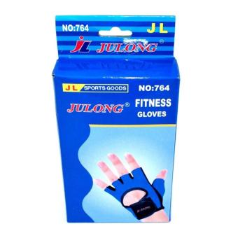 Julong MT-764 Fitness Gloves (Blue/Black)for bicycle motorcycle sport Fitness