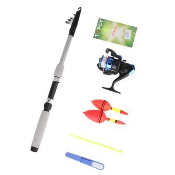 Junior beginner fishing rod reel kit floats hooks tackle for Beginner fishing rod