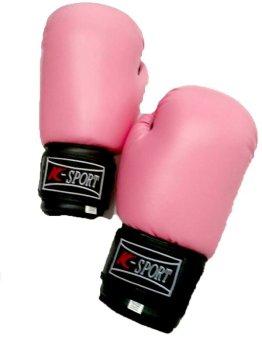 K Sports Boxing Gloves 12oz (Pink)