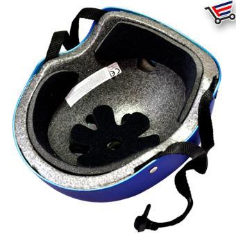 Kids/Adult Bmx Nutshell Bike Cycling Protective Helmet (Blue) Buy 1Take 1 - 4