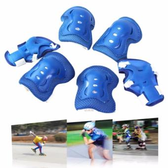 Knee Pads Elbow Wrist Protective Gear Pads for 4-12 Years Boy andGirl Children Kids Cycling Roller Skating Birthday Christmas GiftSet of 6
