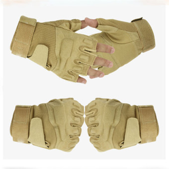 LALANG Sports Fitness Gloves Sand Color - picture 2