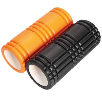 LCD Grid Revolutionary Foam Roller Exercise Workout Massage 12inch (Orange) (Intl) - picture 4