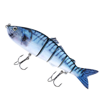 Life Like Hard Bait Multi Jointed Segmented Section Fishing Lure with Treble Hooks - picture 2