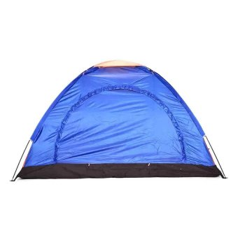 Lightweight 6-8 Person Camping Backpacking Tent With Carry Bag (Multicolor)