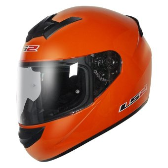 LS2 Full-Face FF352 Rookie Helmet (Orange)