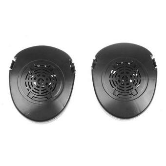 M50 Paintball Full Face Skull Gas Mask Black - 2