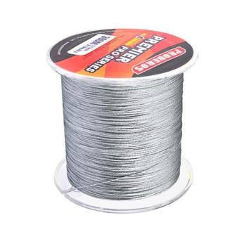 MagiDeal Super Strong 300M 0.18mm 15LB PE Braided Lines Sea Fishing Line Grey - intl