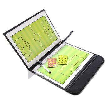 Magnetic Football Soccer Coaching Dry Erase Clipboard TacticalBoard - intl