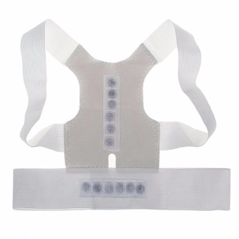 Magnetic Posture Humpback Support Corrector Belt Back Brace Strap(Large)