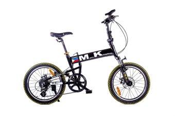 Mars Kingdom FD-008 MK Trooper Folding Bike (Black)