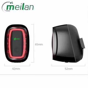 Meilan X1 Headlight & X6 Taillight Smart Lights Night RideBundle - 5