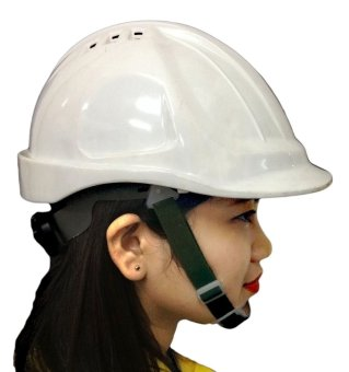 Meisons Safety Helmet Hard Hat Abs With Airflow (White)