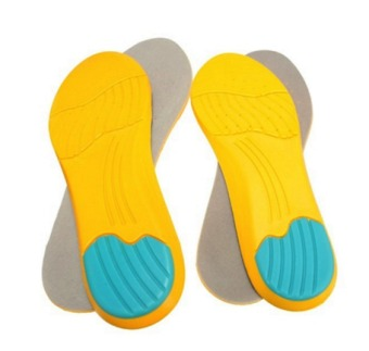 Memory Foam Breathable Orthotic Arch Shoe Insoles Sport Insert Heel Cushion Pad Set of 2