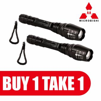 MICROBISHI New Power Style Microbishi Flashlight LED rechargeableflashlight#SKY-1064-30000W BUY ONE TAKE ONE 1