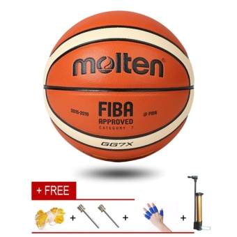 Molten GG7X Indoor Outdoor Premium Composite Leather Basketball Official Size 7 Basketball Ball PU Match Training Equipment - intl