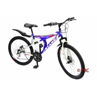 Mountain Bike 26 Stark Full Suspension Disc Brakes mtb