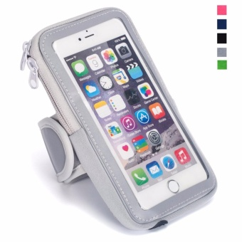 Multifunctional Outdoor Sports Armband Casual Arm Package Bag CellPhone Bag Key Holder For iphone7Plus 6Plus 6sPlus Samsung GalaxyNote 5 4 3 Note Edge S5 S6 S7 S8 Edge Plus Green - intl