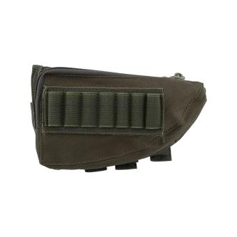 Multifunctional Shot & Rifle Pouch Cheek Pad Shell Pouch(ArmyGreen) - intl Price Philippines