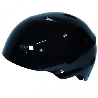 Multipurpose Protection Helmet Nutshell (Glossy Black)