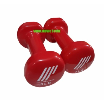 Muscle Power Vinyl Dumbbell 3lbs (set of 2) Price Philippines