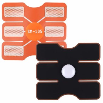 Muscle Training Body Shape Fit ABS Abdomen Pad Fitness MassageTrainer - intl