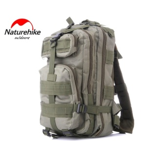 Naturehike 3P Military Tactical Backpack Travel Molle Pack Tactical Combat Travel Bag 30 L Capacity 600D Oxford for Camping Hiking Hunt Trekking - intl