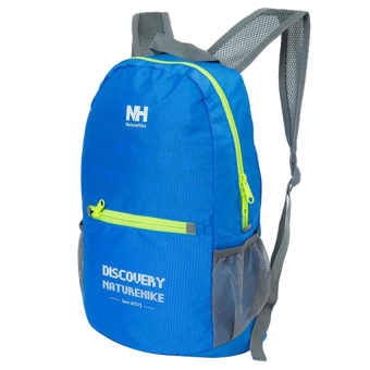 NatureHike B-NH-ZDB Camping Double-Shoulder Backpack Bag (Blue) - 3