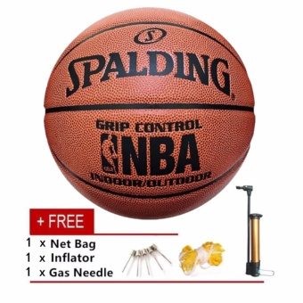 NBA Official Spalding Basketball Sunni Indoor/Outdoor Control PUNo.7 Game Basketball - intl