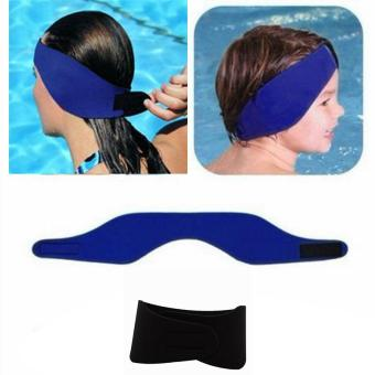 Neoprene Ear Band Head Band Swimming Bathing Head Protector Cap Wrap waterproof - intl