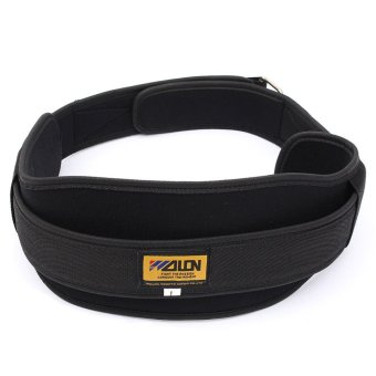 Neoprene Weight Lifting Belt Gym Fitness Wide Back Support Training Size L