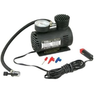 NEW Portable Mini Electric Air Compressor for car Tire Inflator Pump 12 Volt 300 PSI