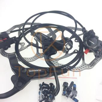 New SHIMANO BR-BL-M315 MTB bike Hydraulic Disc Brake Set Front andRear Black - intl