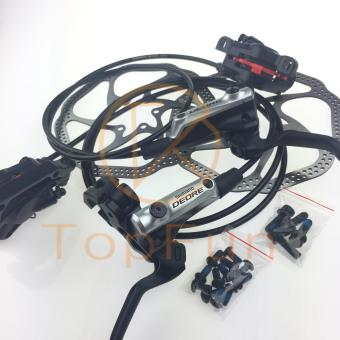 New SHIMANO Deore M615 MTB Hydraulic Disc Brake Set Front &Rear Black - intl