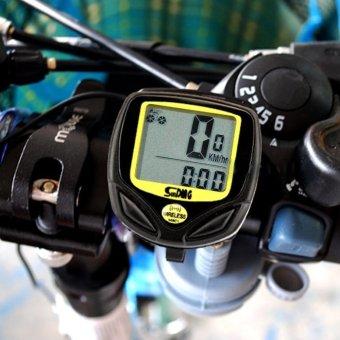 New Wireless Bicycle Cycling Bike Computer Speedometer Odometer Meter - intl - 2