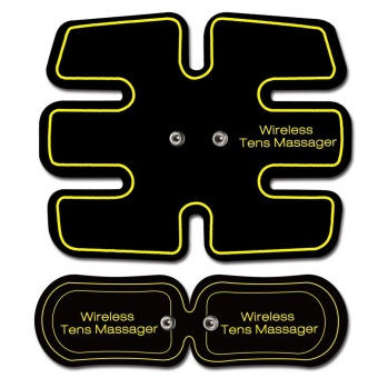 New Wireless Electric Massager EMS Abdominal Training Device TENS Unit Electrotherapy Back Pain Relief ABS Fit Muscle Stimulator - intl - 5