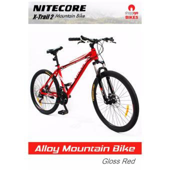 Nitecore X-Trail 2 Mountain Bike (Gloss Red)