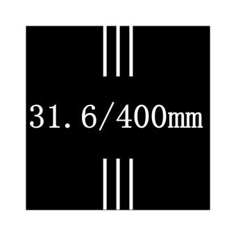 NO LOGO 3K Matte Carbon Fiber Seatpost Length Cycling Road Bike Mountain Bicycle Seat Post 31.6x400mm - intl - 5