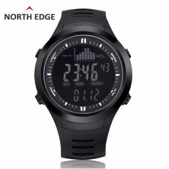 NORTHEDGE digital watches Men Watch with Weather forecast AltimeterBarometer Thermometer Altitude for Climbing Hiking Fishing Outdoorsports Price Philippines