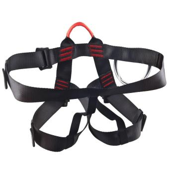 oanda Climbing Harness,Climbing Safe Seat Belt for Fire Rescue High Altitude School Assignment Caving Rock Climbing Rappelling Equipment Half Body Guard Protect