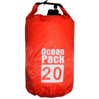 Ocean Pack Portable Barrel-Shaped Waterproof Dry Bag 20L Price Philippines