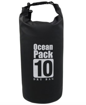 Ocean Pack Waterproof Dry Bag 10L (Black) Price Philippines
