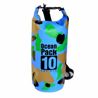 Ocean Pack Waterproof Dry Bag 10L Camo