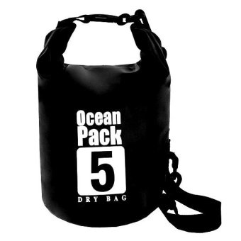 Ocean Pack Waterproof Dry Bag 5L (Black) Price Philippines