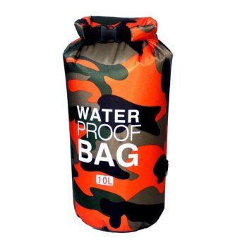 Ocean Pack Waterproof Dry Bag Camouflage 10L(ORANGE) Price Philippines