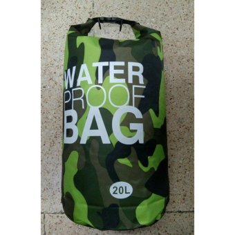 Ocean Pack Waterproof Dry Bag Camouflage 20L(GREEN) Price Philippines